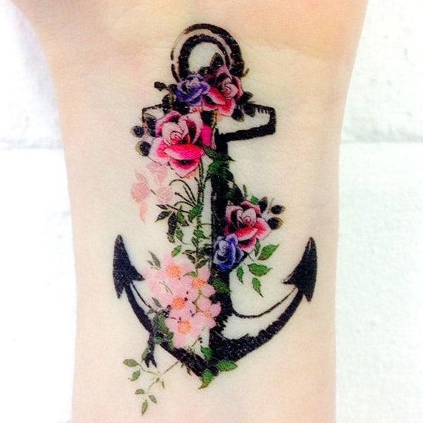 anchor tattoo design
