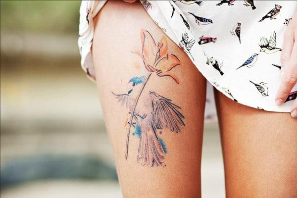 lovely bird tattoos