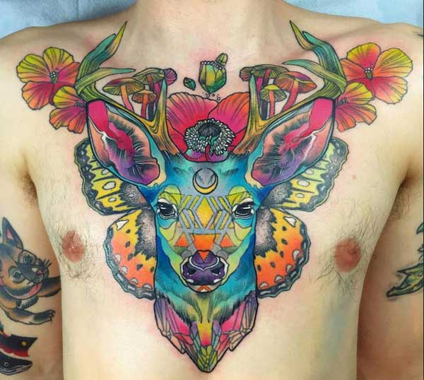 tattoos for men on chest