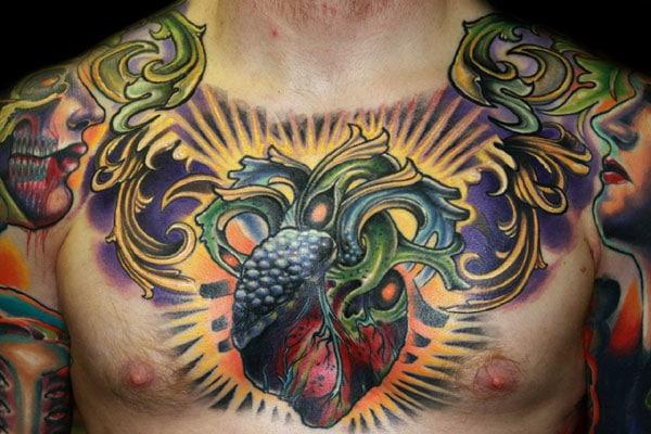 chest tattoos pictures