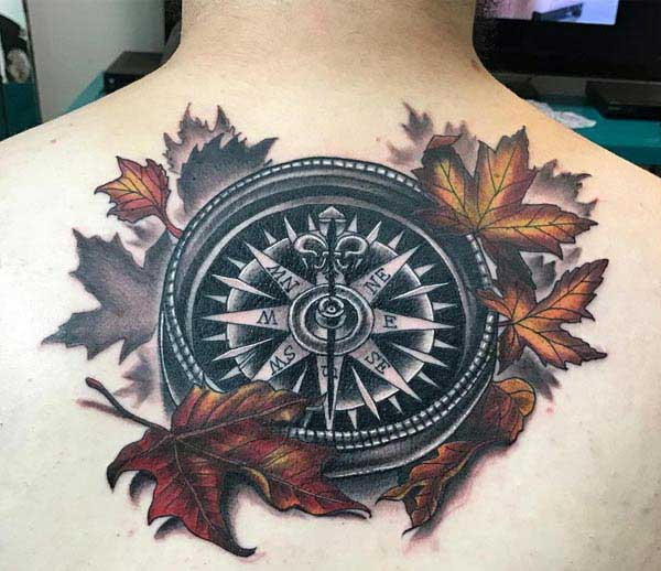 compass tattoo images