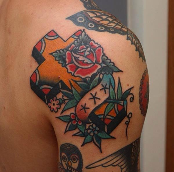 tatoveringer af kryds