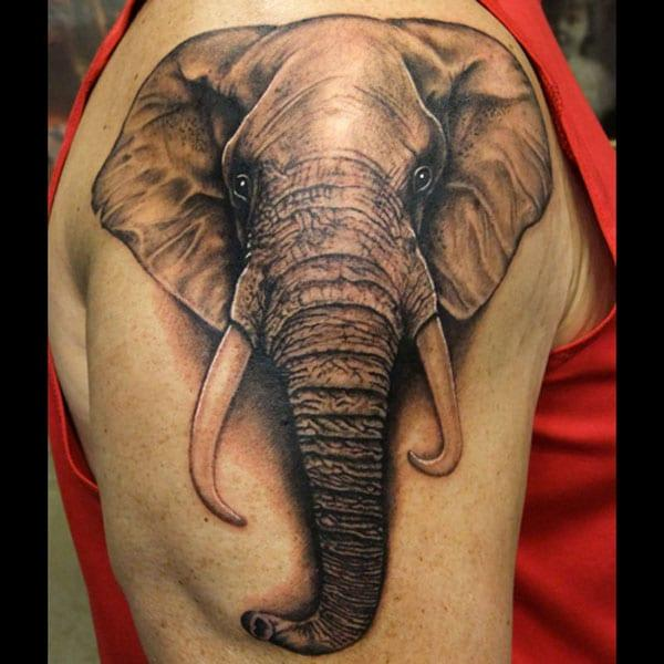 olifant arm tattoo