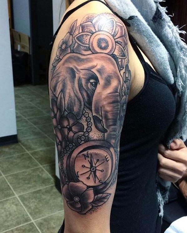 слонови тетоважи за девојки