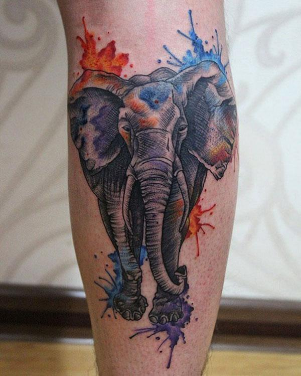 elephant tattoo image