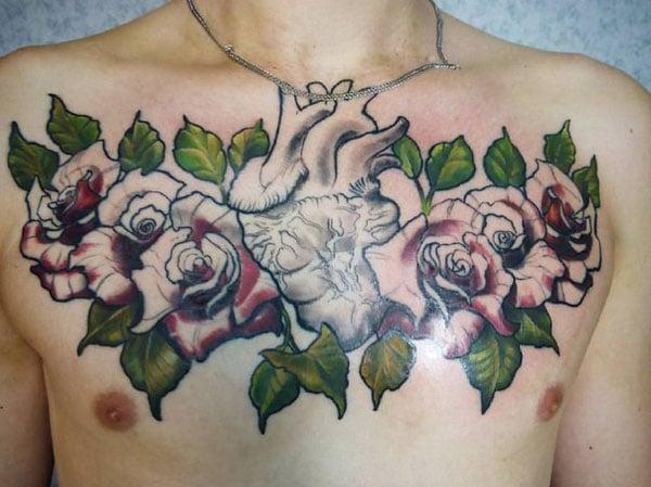 kalp tasarım dövmeleri