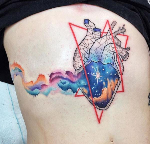 best heart tattoos