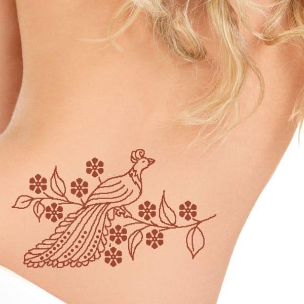 henna tetoválás minták