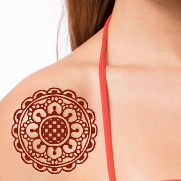 henna design tetoválás