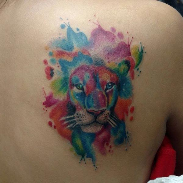 king lion tattoos