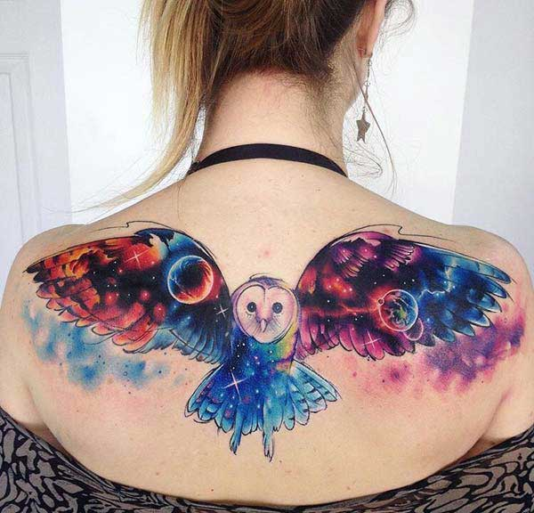cool owl tattoos