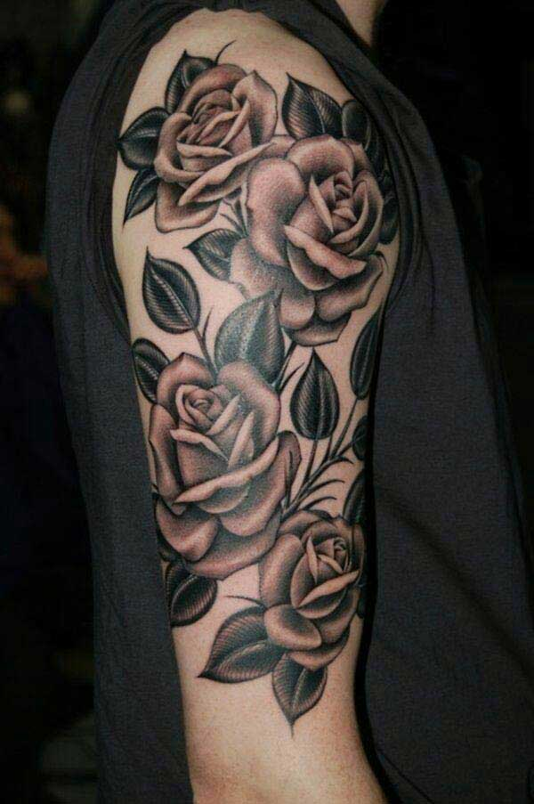 rose tattoo pic
