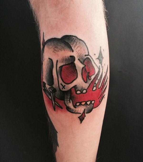 skull tattoo pics