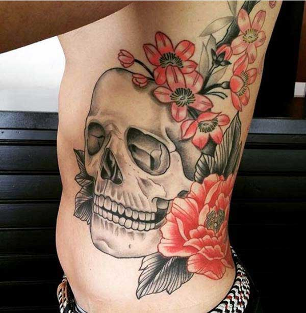 skull tattoo art