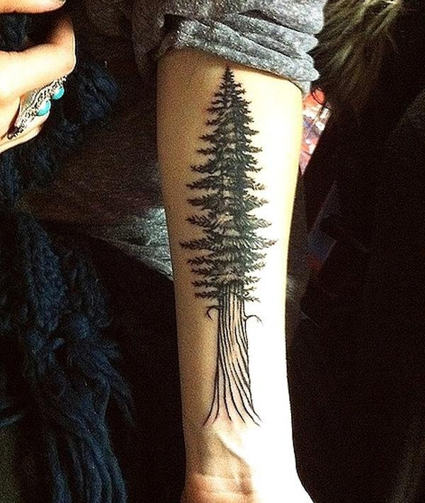 dessins d'arbres tatouage