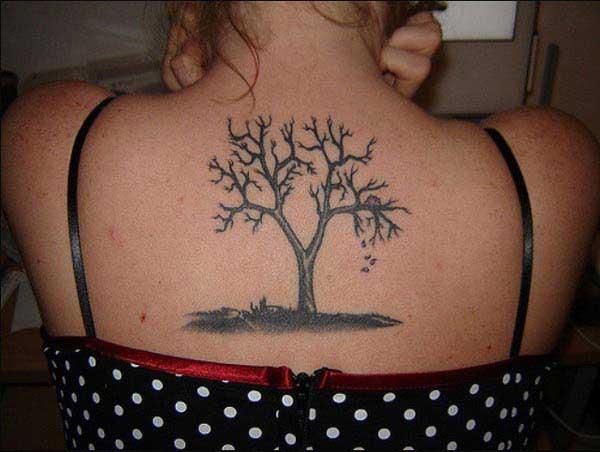 dorso tatuajes