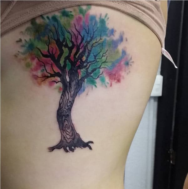 cute tree tattoos