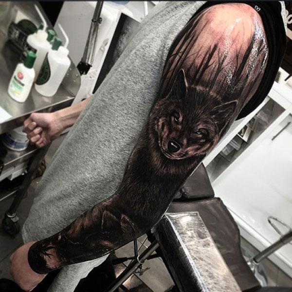 Wollef Tattoo Art