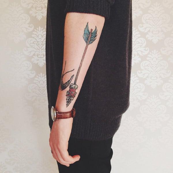 arrow designs tattoo
