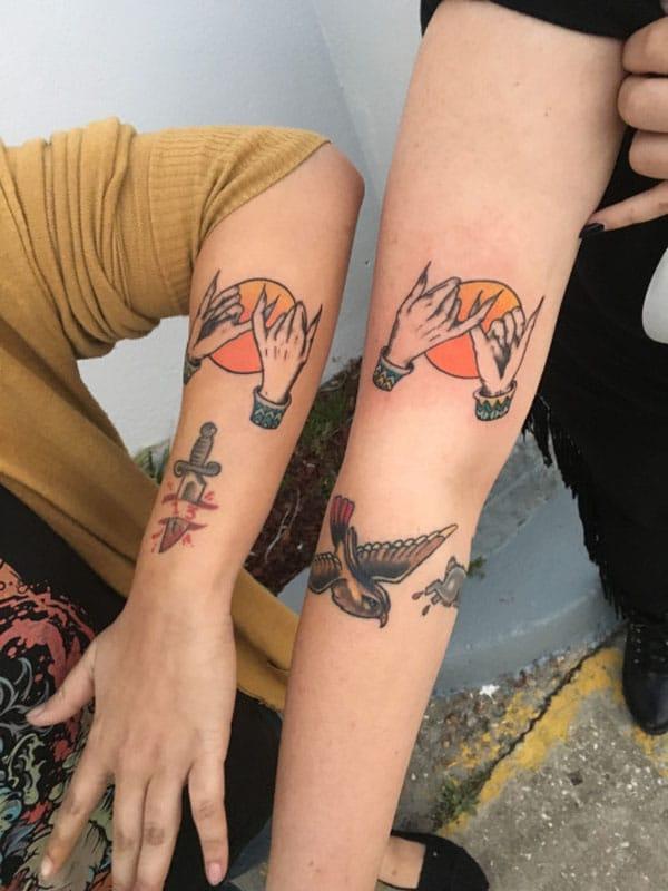tattoo ideas for best friend