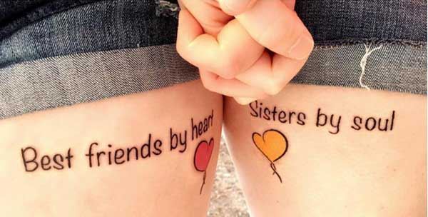 tattoo best friends