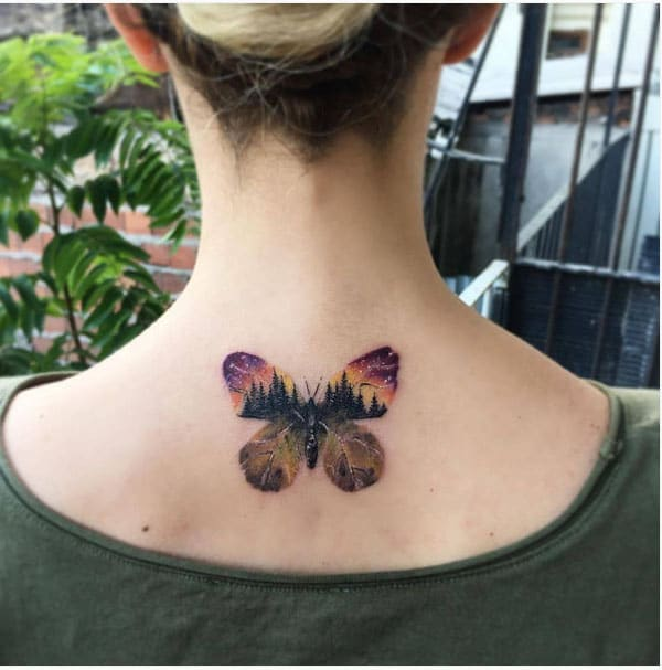 сладък дизайн татуировки
