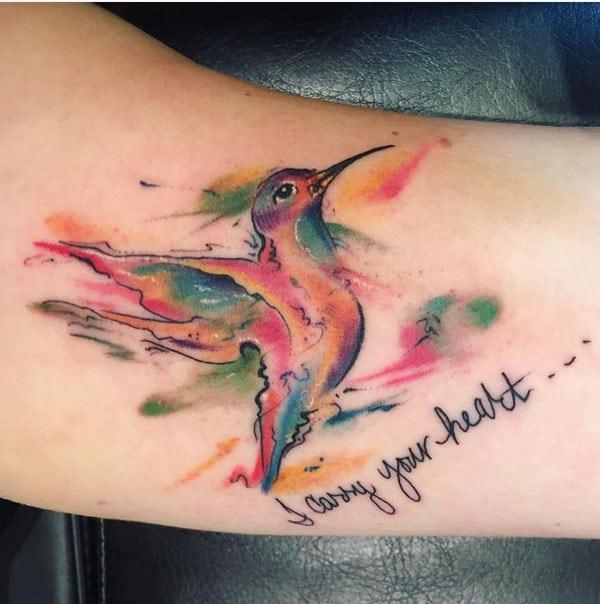 барвисті милі татуювання
