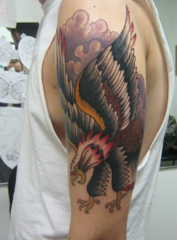 best eagle tattoos