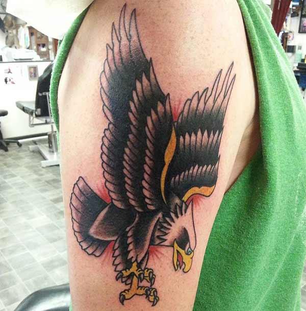 ērgļa tetovējums puiši