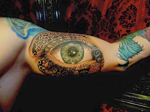 best eye tattoos