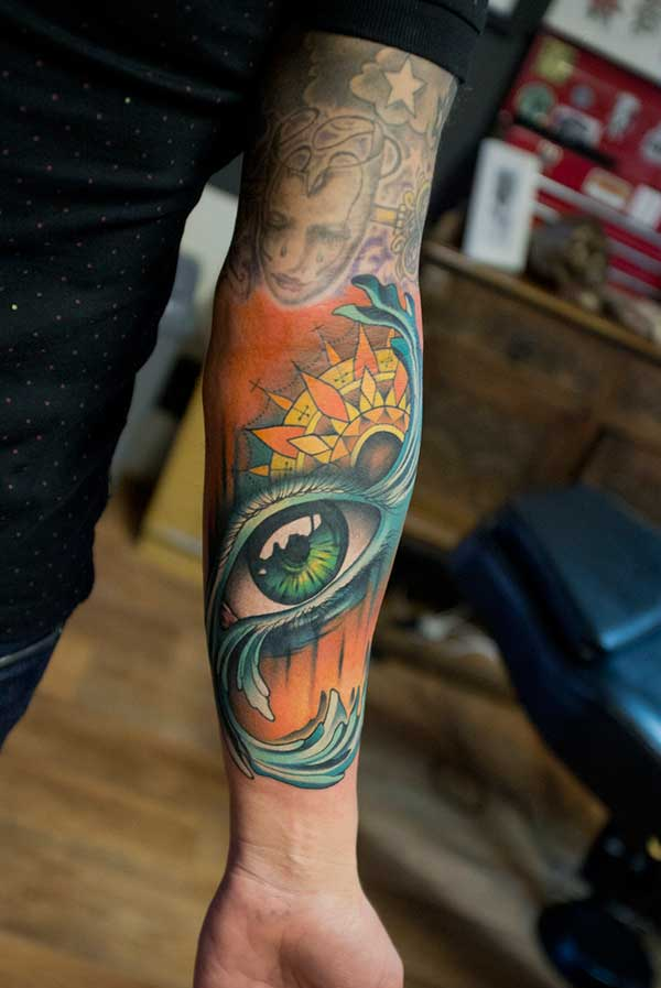 cute eye tattoos