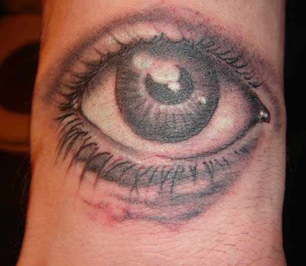 eye tattoos images