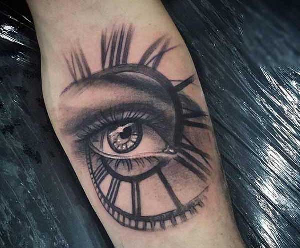 lovely eye tattoos
