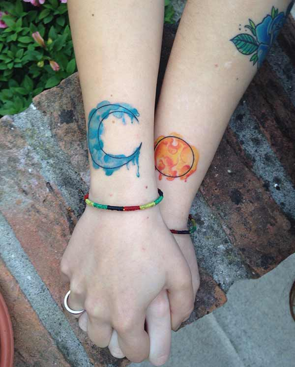 beautiful friendship tattoos