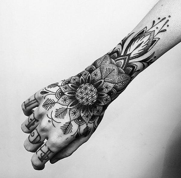 best hand tattoos