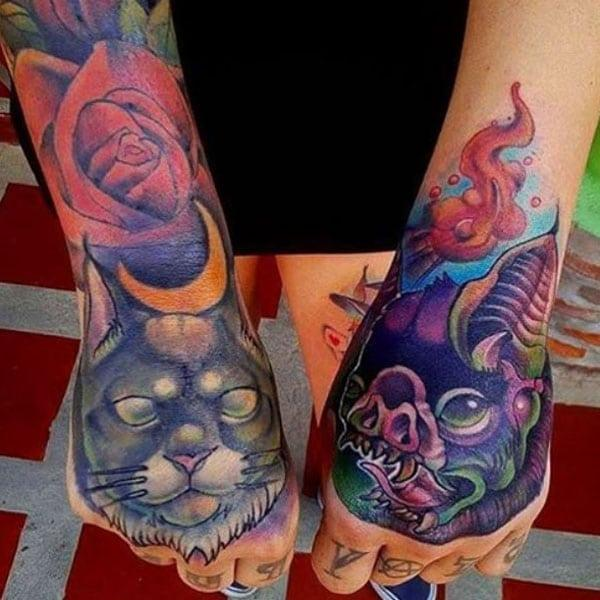 amazing hand tattoos