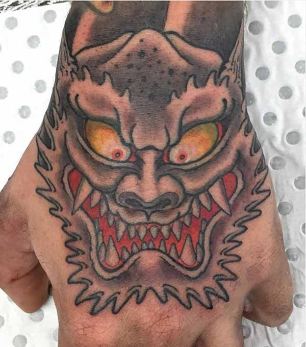 fearful hand tattoos