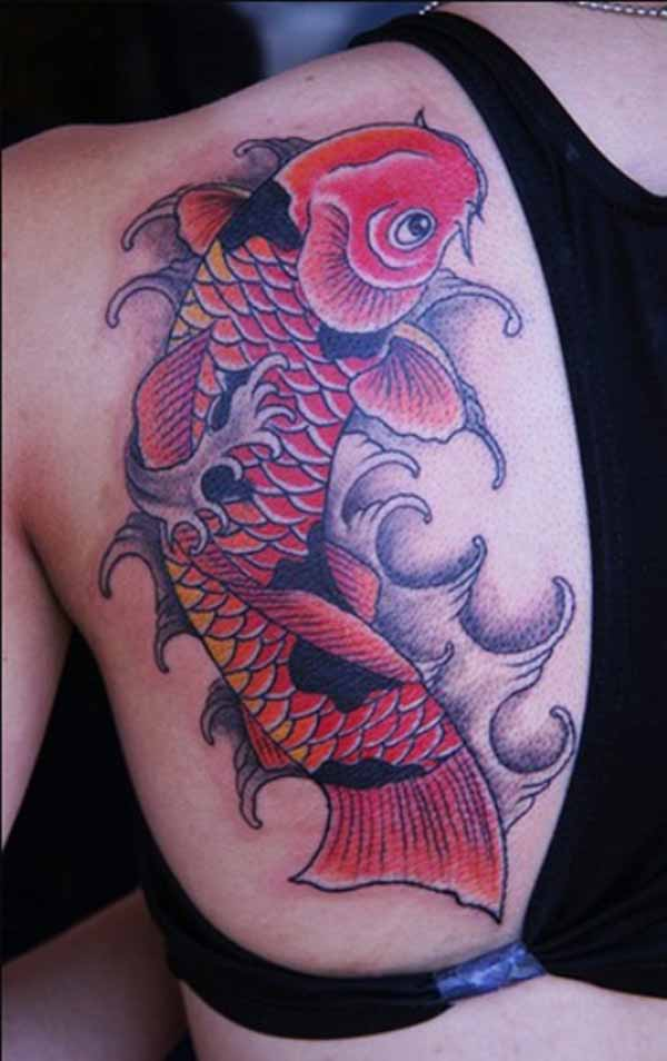 tattoos of koi fish