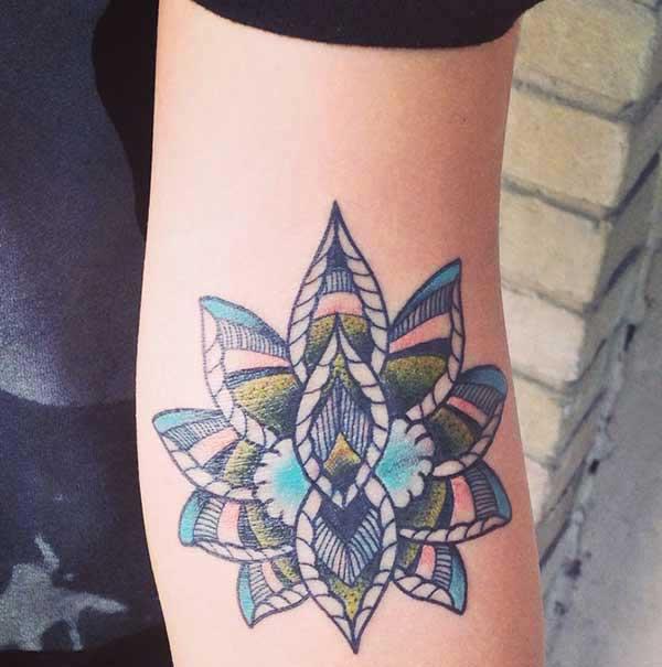 image Lotus blóm tattoo