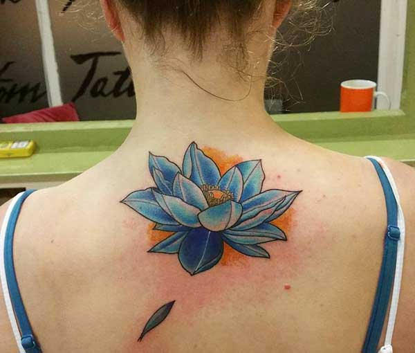 lotus flowers tattoos pictures