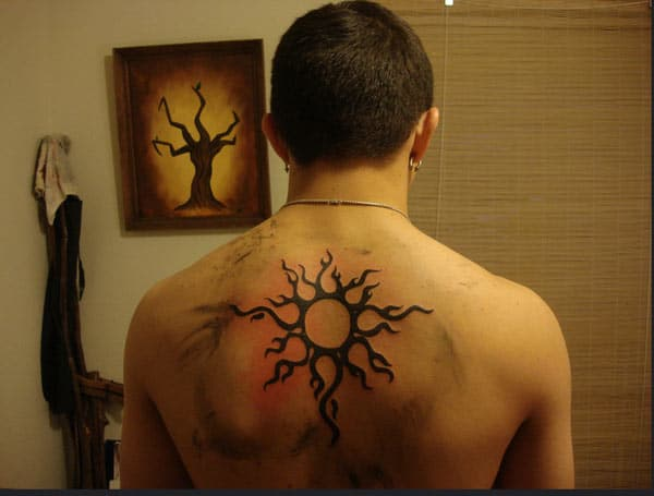 sun tatoo pictures
