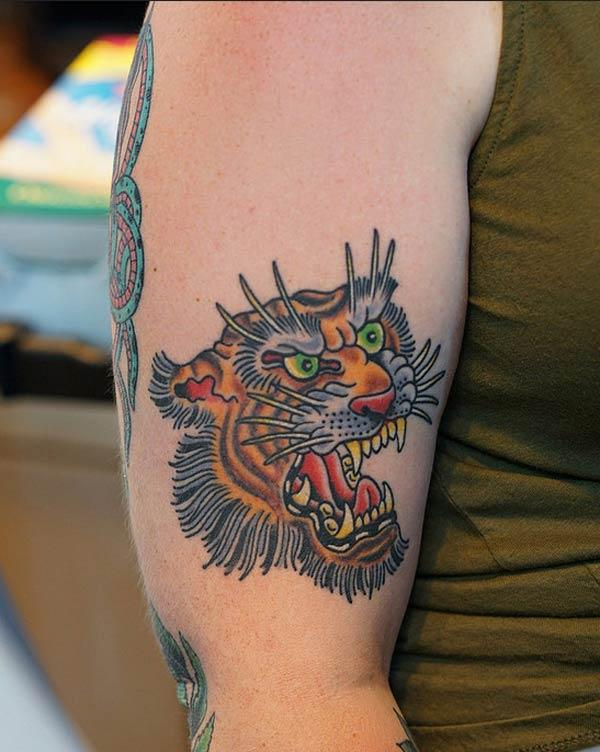 cute tiger tattoos