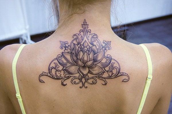 lotus flower tattoos ideas