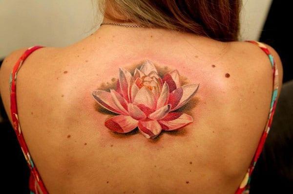 Lotus blóm tattoo