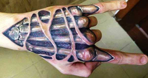 cool 3d tattoos