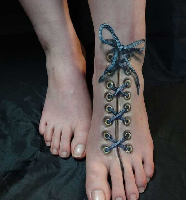 shoe 3d tattoos