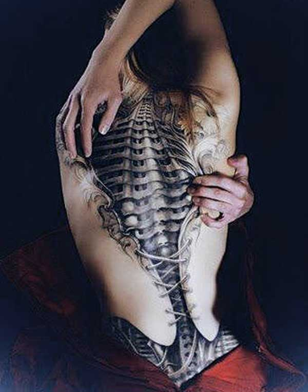 female 3d tattoos