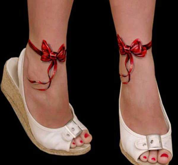 ankle 3d tattoos