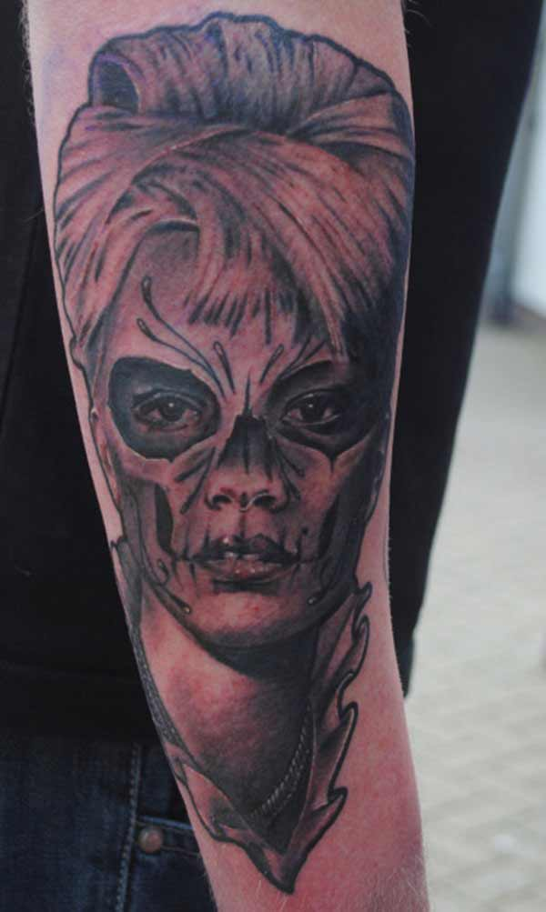 awesome day of the dead tattoos