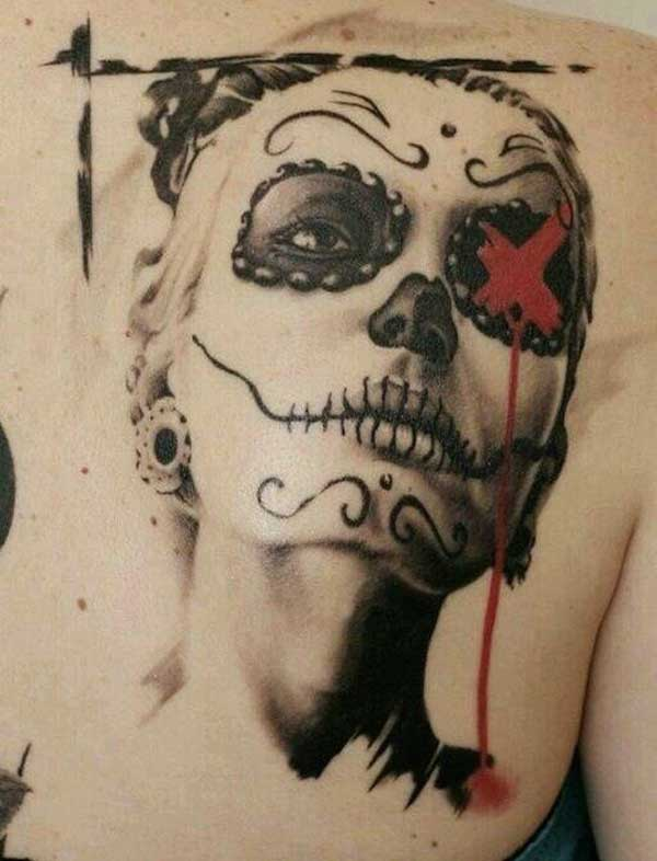 day of dead tattoos